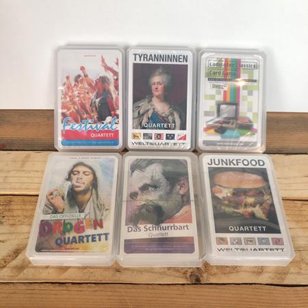 Kartenspiele und Quartette - unterhaltsame Geschenke in Frankfurt